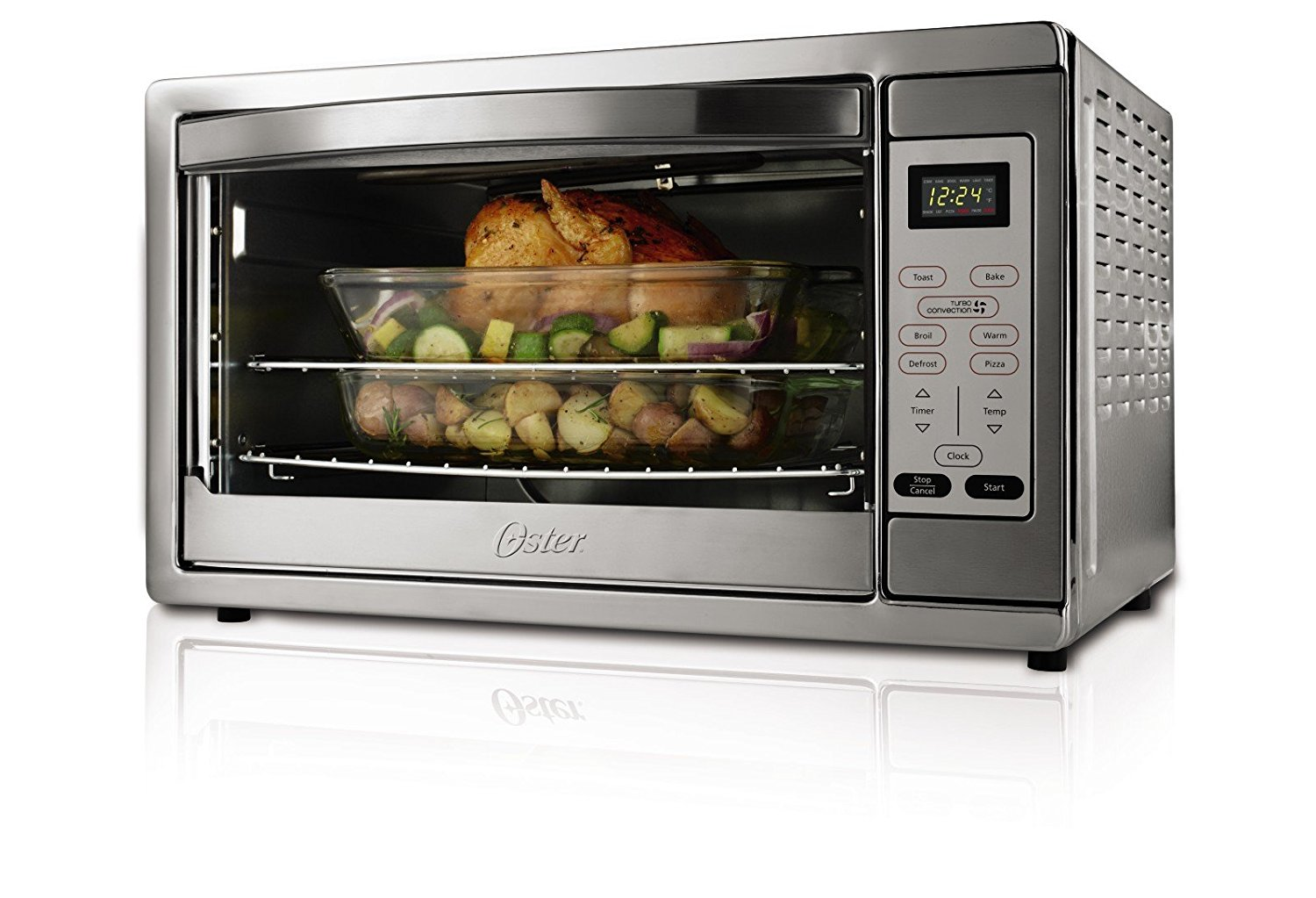 Countertop Convection Oven Ratings : Top 10 Convection Toaster Oven Reviews - BestReviewy.com