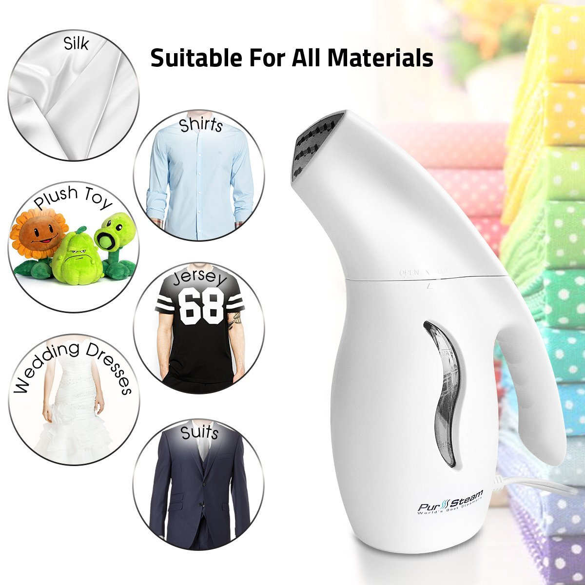 Top Best Travel Portable Handheld Fabric | Clothes Steamers