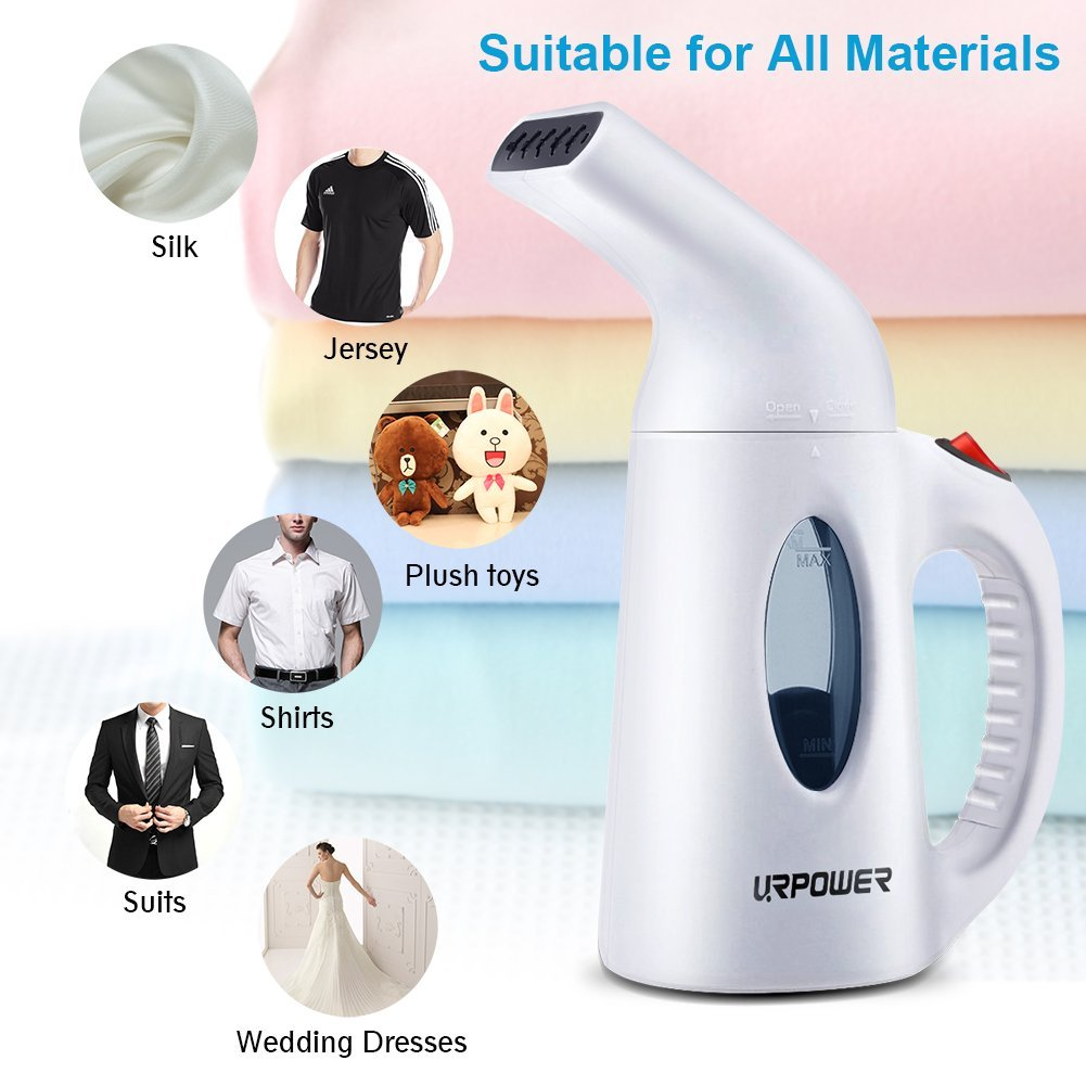Top Best Travel Portable Handheld Fabric | Clothes Steamers Reviews-3