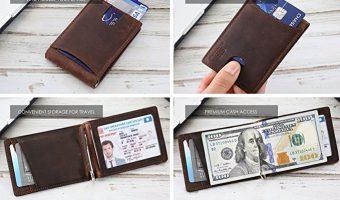 Top 10 Best Men Leather Wallet Reviews 2018