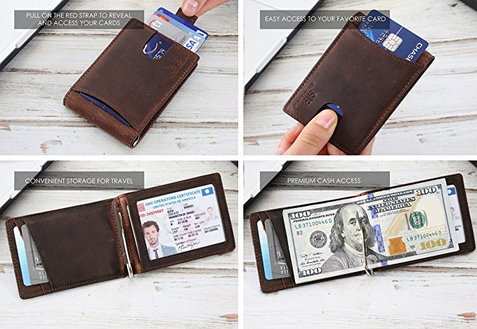 Top 10 Best Men Leather Wallet Reviews-8