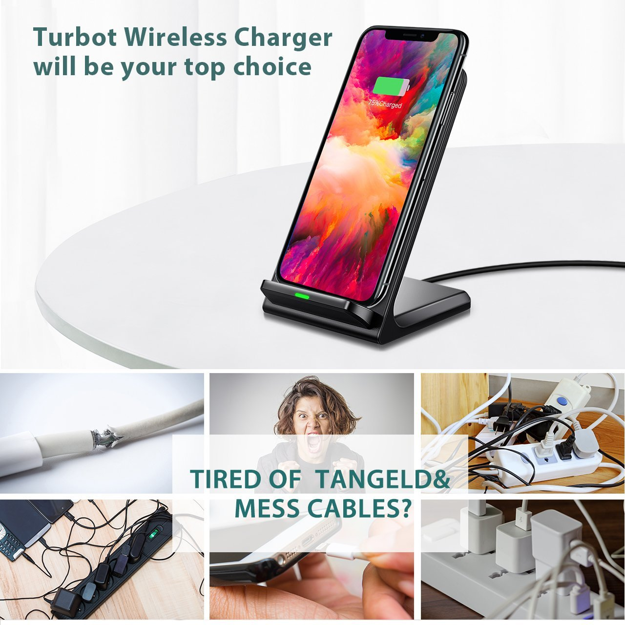 Top 10 Best Wireless Charger For iPhone | Samsung Reviews-13