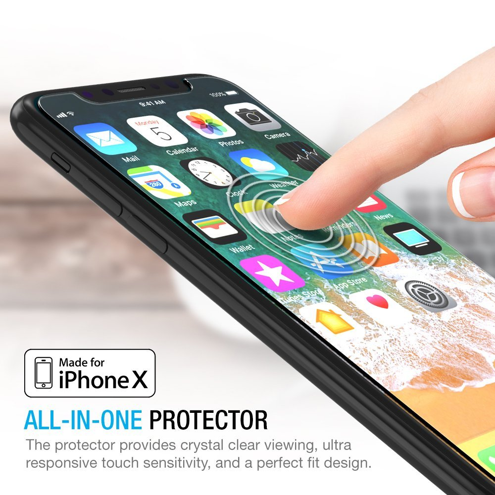 Top 10 Best iPhone X Screen Protector – 10