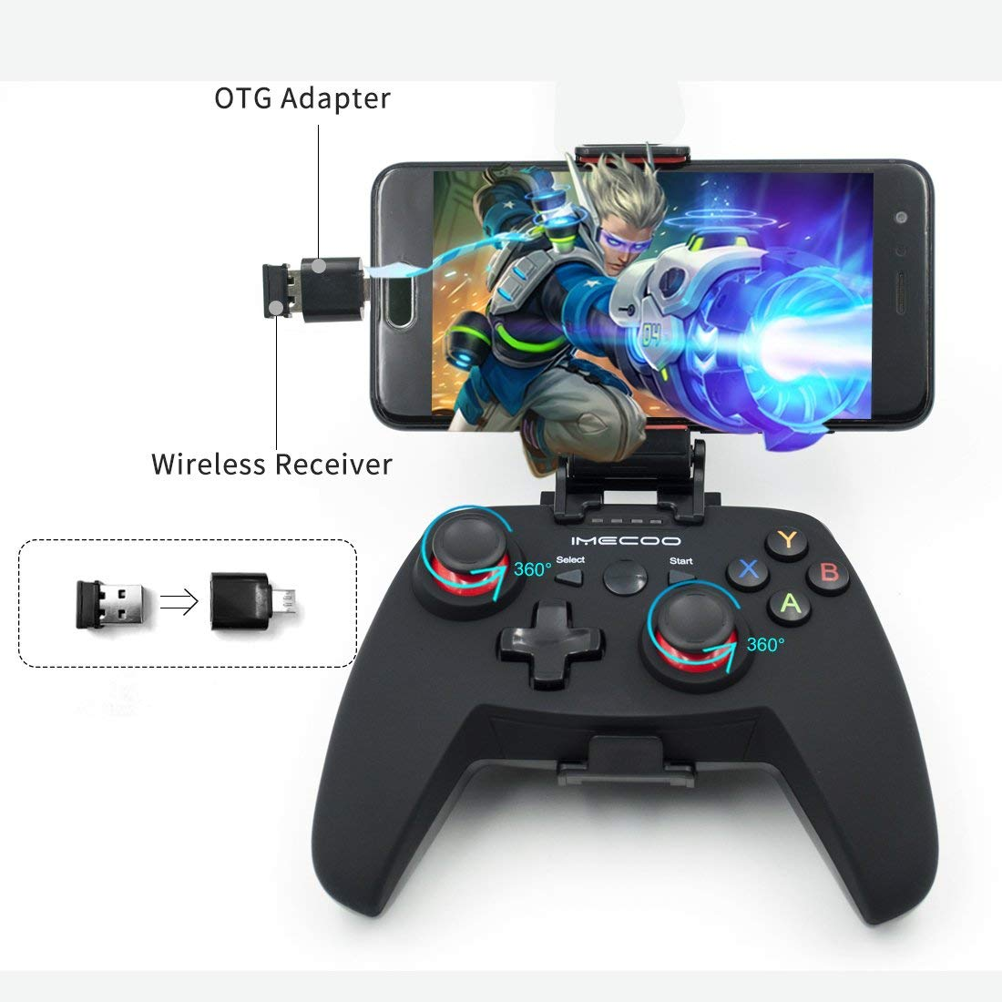 Wireless Gaming Controllers-15
