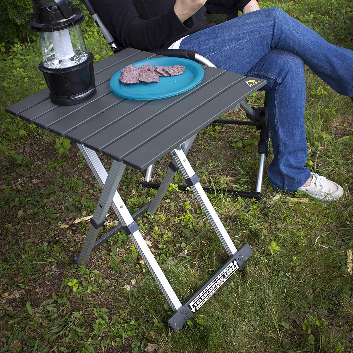 Best Portable Camping Side Tables Reviews-14