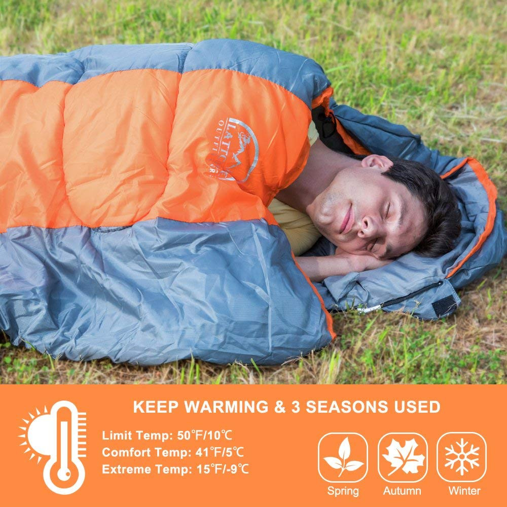 Top 10 Best Sleeping Bags for Backpacking Reviews-12