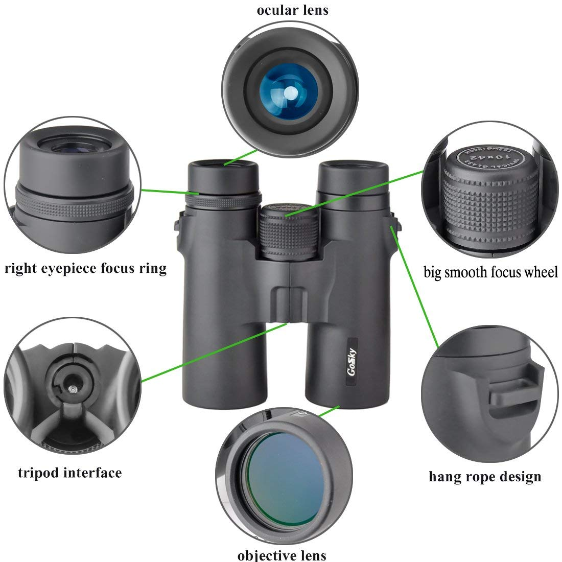 Top 10 Best Waterproof Binocular Reviews-6