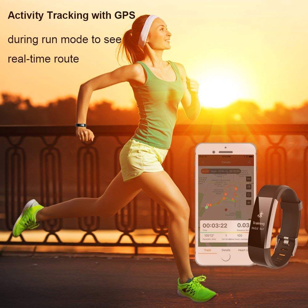 Top 10 Best Waterproof Fitness Trackers Reviews-10