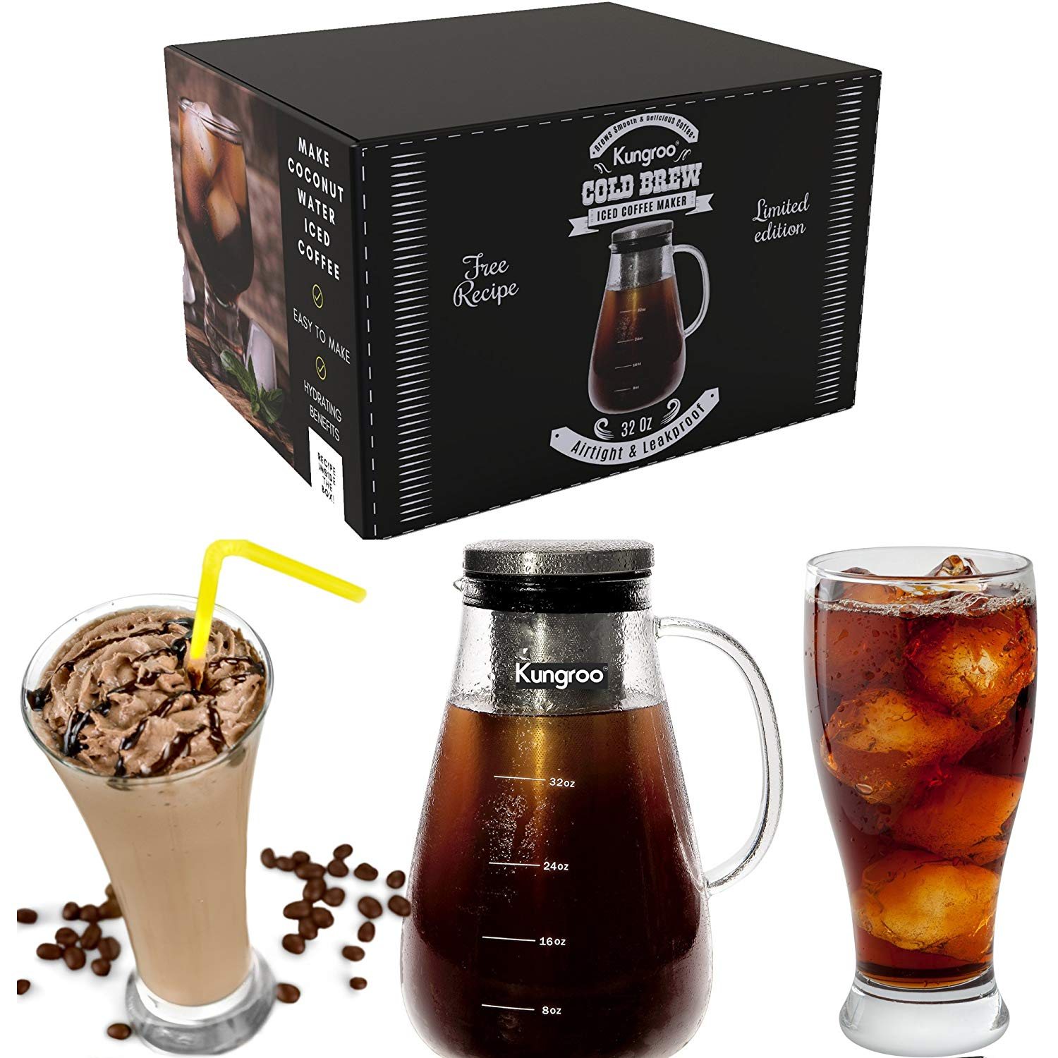 Top 10 Best Cold Brew Iced Coffee Makers Review-5