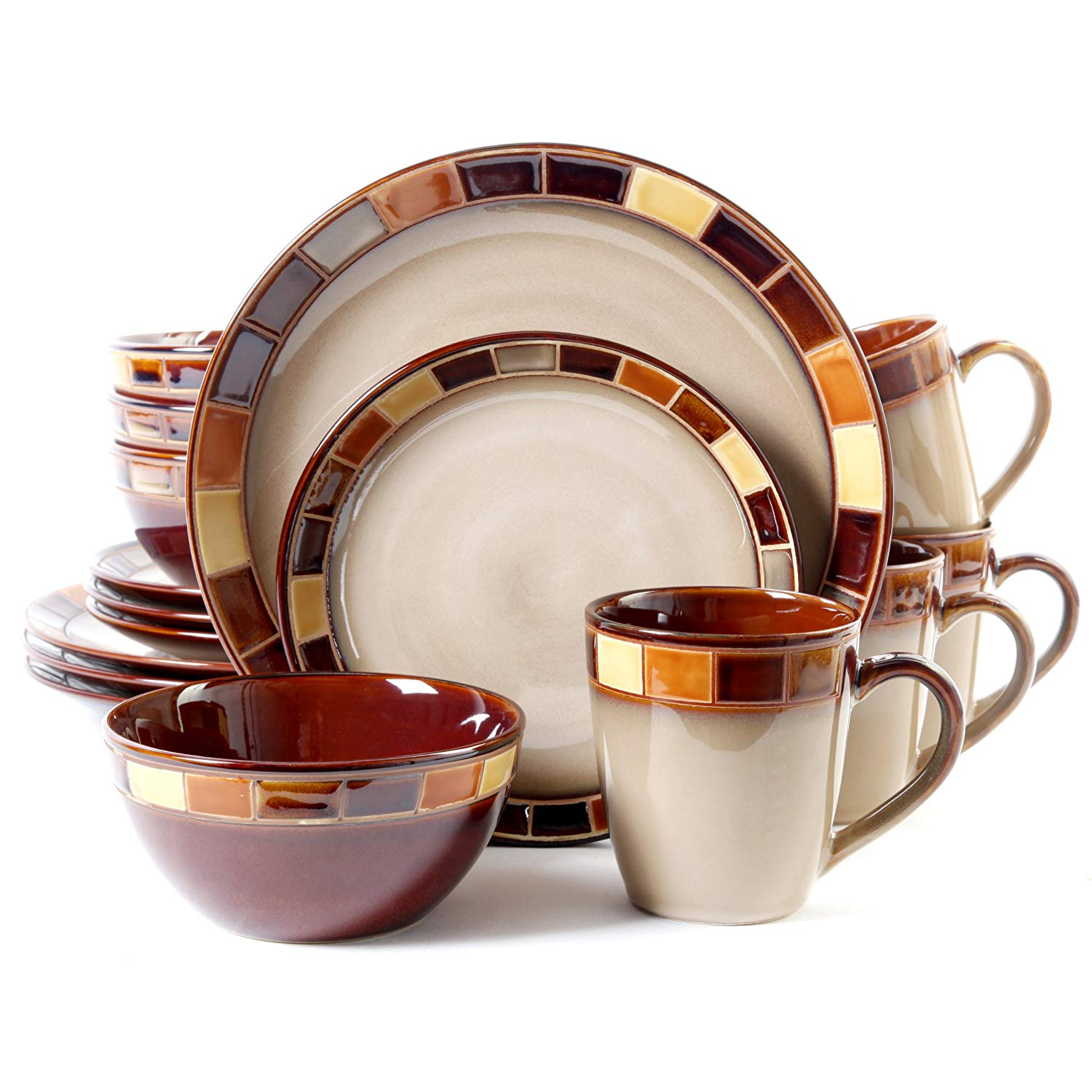 Top 10 Best Dinnerware Sets Review-13