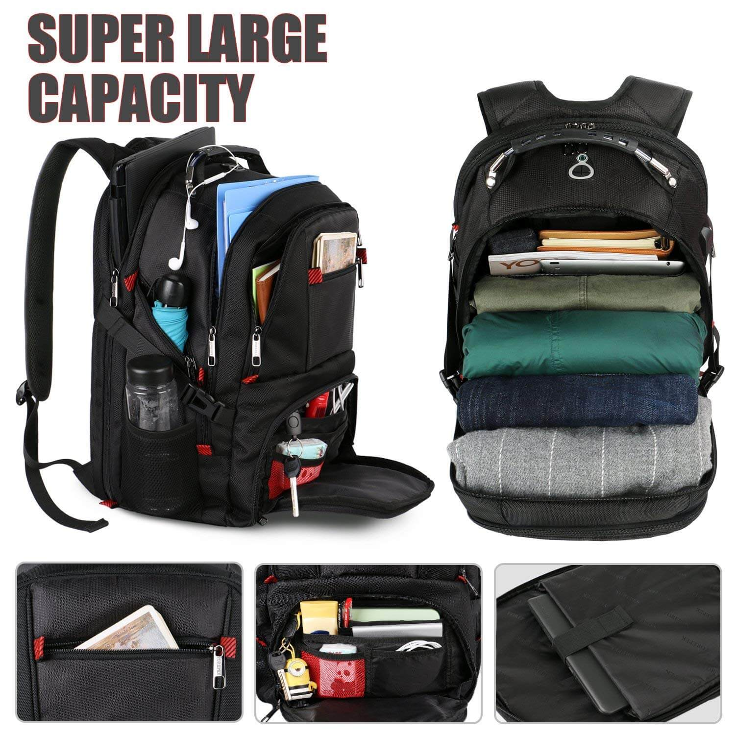 Top 10 Best Laptop Backpacks Review-8