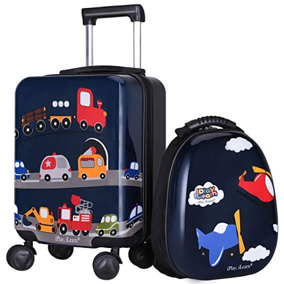 Top 10 Best Lightweight Kid's Luggage Review-1