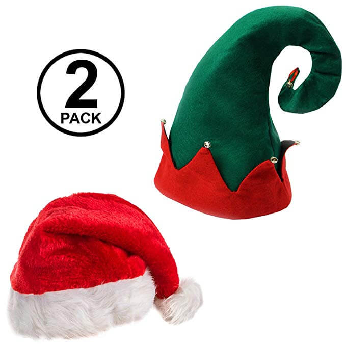 Top 10 Best Santa Caps Review-4