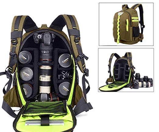 Top 10 Best Waterproof Camera Backpacks Review-4