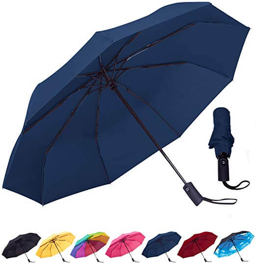Top 10 Best Compact Travel Umbrellas