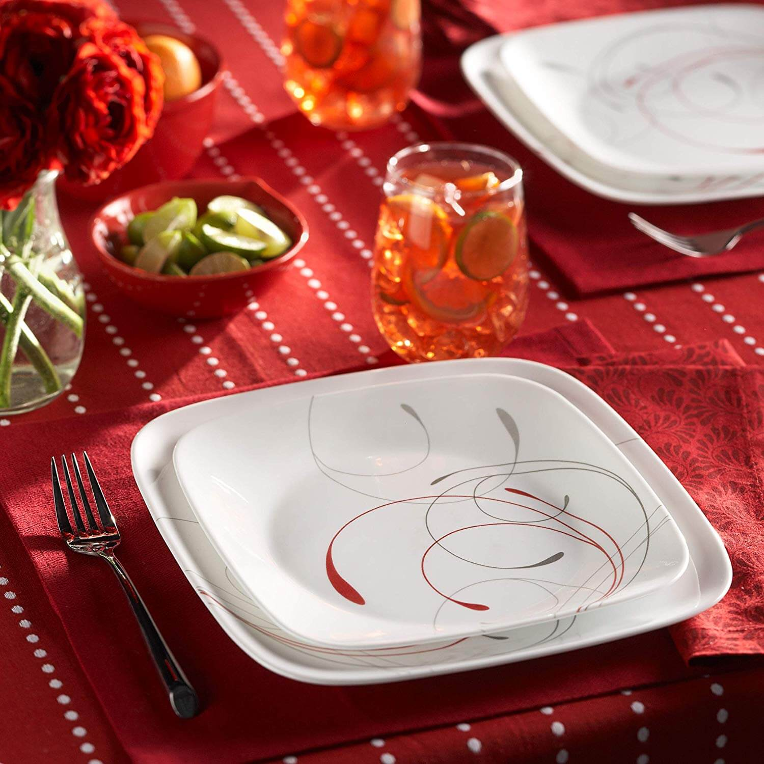 Top 10 Best Dinnerware Sets Review-8